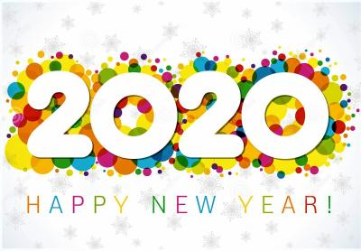 #  New Beginnings  #  New Dreams  #  New Hopes  #  New Horizons  #           !Happy New Year 2020!